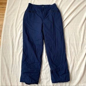 Vintage made in Canada snowboard ski pants winter